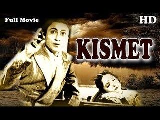 Kismet | Full Hindi Movie | Popular Hindi Movies | Ashok Kumar - Mumtaz