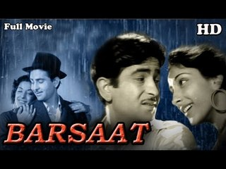 Barsaat | Full Hindi Movie | Popular Hindi Movies |  Nargis - Raj Kapoor