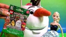 Huge OLAF Easter Basket SURPRISE LEGO Play-Doh FROZEN MASHEMS FASHEMS Disney MyL