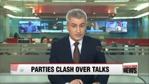 Ruling party criticizes main opposition for failed one-on-one talks