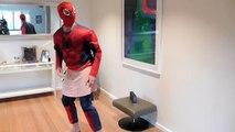 Gerçek Hayat Spiderman Dance Off - Superhero Eğlence | Joker Featuring!