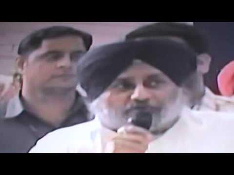 Sukhbir Badal Sangat Darshan PHILLAUR Baldev Singh Khaira Akali Dal Candidate Punjab Elections 2017
