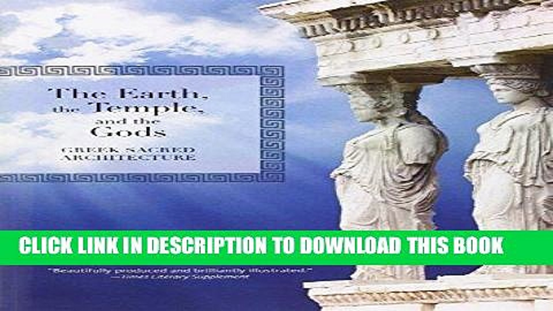 Ebook The Earth, the Temple, and the Gods: Greek Sacred Architecture Free Read