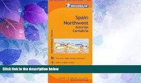 Big Sales  Michelin Spain: Northwest, Asturias, Cantabria Map 572 (Maps/Regional (Michelin))  READ