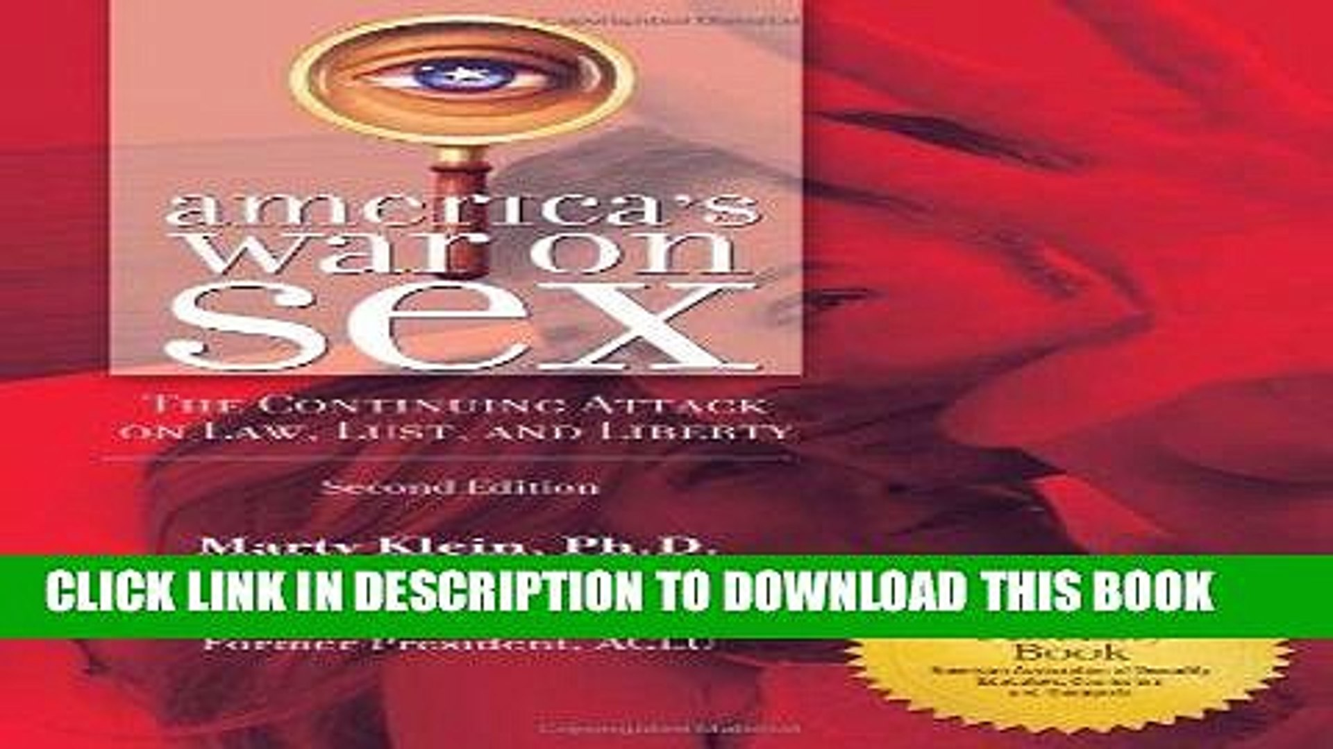 [PDF] America s War on Sex: The Continuing Attack on Law, Lust, and Liberty, 2nd Edition (Sex,