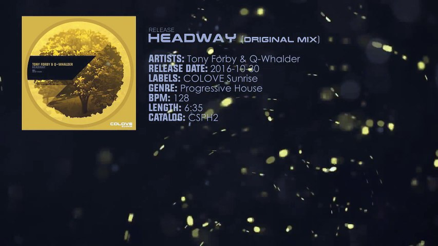 Tony Forby & Q-Whalder - Headway (Original Mix)