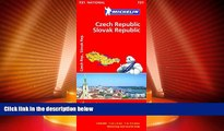 Big Sales  Czech Republic, Slovak Republic (Michelin National Maps)  READ PDF Best Seller in USA