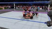 WWE 2K17 SIMULATION: John Cena vs Dean Ambrose vs AJ Styles - No Mercy 2016 Highlights