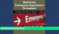 PDF Download Optimizing Emergency Department Throughput: Operations Management Solutions for