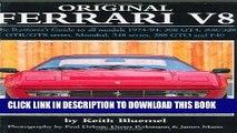 Ebook Original Ferrari V8: The Restorer s Guide for all models, 1974-1994: 308 GT4, 308/328