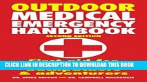 [PDF] Outdoor Medical Emergency Handbook: First Aid for Travelers, Backpackers and Adventurers