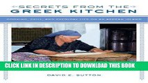 Best Seller Secrets from the Greek Kitchen: Cooking, Skill, and Everyday Life on an Aegean Island