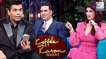 Twinkle Khanna TEASES Karan Johar For Fawad Khan | Koffee With Karan Season 5