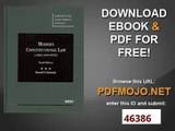 Read book American Constitutional Law, Seventh Edition (Law Casebook