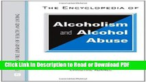 Read The Encyclopedia of Alcoholism and Alcohol Abuse (Facts on File Library of Health   Living)