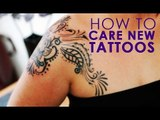 How To Care Of Your New Skin Tattoo | Remedies For Skin Care | Simple Health Home Remedies Tips