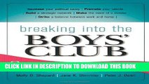 [PDF] Breaking into the Boys  Club: 8 Ways for Women to Get Ahead in Business Full Online