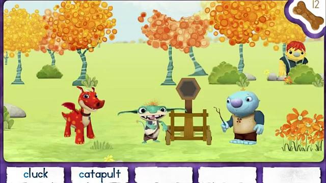 Magic Word Hunt – Wallykazam Games