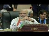PM Narendra  Modi at the 14th Asean India Summit in Vientiane, PMO India  Laos Visit September 2016
