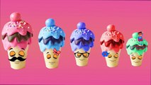 Finger Family Cake Pop Ice Cream Candy Nursery Rhymes | 3D Lollipop Daddy Finger Family Song