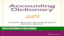 [PDF] Accounting Dictionary: English-Spanish, Spanish-English, Spanish-Spanish [Download] Online