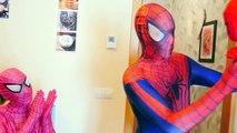 Spiderman vs Alien Prank! Spider-Man Meets Aliens! Fun Superhero Playlist In Real Life