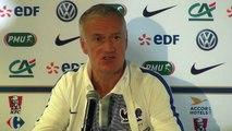 Amical - Bleus: Didier Deschamps sur la marge de progression de Adrien Rabiot