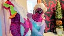 Super Mario Bros ATTACK Spiderman vs Joker Mario Luigi King Bowser Koopa Frozen Elsa