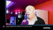 Dakar 2017: Philippe Croizon dévoile avec humour ses objectifs (Exclu Vidéo)