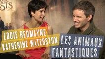 Les Animaux Fantastiques : interview magique avec Eddie Redmayne & Katherine Waterston