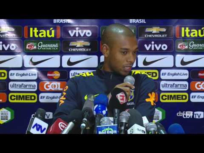 Seleção Brasileira: Coletiva Fernandinho - 14/11/2016