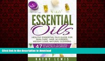 Read book  Essential Oils: Healthy Essential Oils Guide For Skin Care, Hair Growth, Allergies,