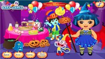 Game Baby Tv Episodes 30 - Dora The Explorer - Dora Prepare Halloween Games