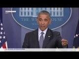 Première conférence de presse d'Obama depuis la victoire de Trump