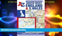 Big Deals  South West England and South Wales Road Map AZ (Great Britain Road Maps 5 Miles to 1