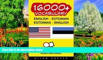 Deals in Books  16000+ English - Estonian Estonian - English Vocabulary (ChitChat WorldWide)
