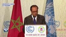 """François Hollande: """"Les Etats-Unis doivent respecter les engagements pris"""" sur le climat"""
