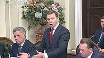 Au parlement ukrainien des parlementaires se mettent à se battre comme des chiffonniers_1280x720