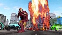 Yellow Ironman Vs Ironman And Black Ironman Vs Ironman Cartoons Finger Family Nursery Rhymes