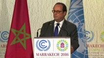 Discours à l'ouverture de la 22ème Conférence (COP22) de la convention-cadre des Nations Unies sur les changements climatiques
