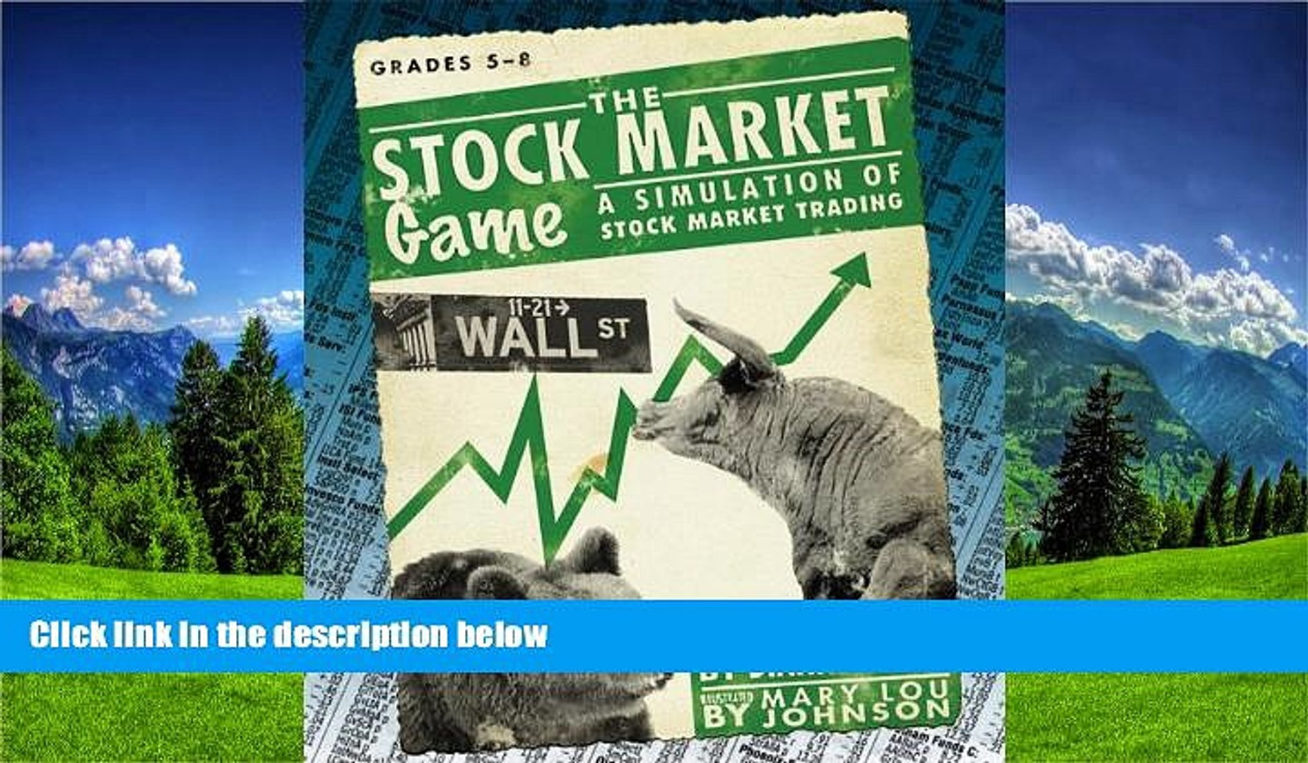 Online eBook Stock Market Game: A Simulation of Stock Market Trading, Grades 5-8