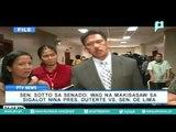 Sen. Sotto sa Senado: Wag na makisawsaw sa sigalot nina Pres. Duterte vs. Sen. De Lima