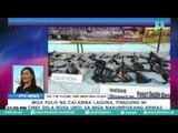 Mga pulis ng Calamba, Laguna, pinulong ni PNP Chief Dela Rosa ukol sa mga nakumpiskang armas
