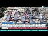 Labi ng mga namatay na miyembro ng NPA sa Agusan Del Sur, ipalilibing nang maayos ng militar
