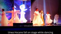Urwa Hocane fall on stage while dancing at Lux Style Awards