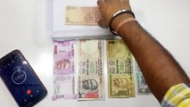 New Rs.2000 Vs Old Rs.500 & Rs.1000 Note Water Test. Nano Chip Damage, Color Loss, Crushing