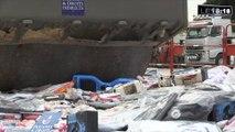 62 000 contrefaçons détruites, la douane marseillaise passe à l'attaque