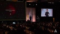 Jackie Chan receives an Honorary Award at the 2016 Governors Awards