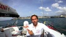 Tanguy de Lamotte annonce qu'il renonce à poursuivre son Vendée Globe