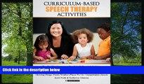 Fresh eBook Curriculum-based Speech Therapy Activities: Volume II: Pre-K / Kindergarten  English